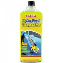 CarWash Shampoo Cera autosgrassante lucidante protettivo Auto Moto 1L MA-FRA