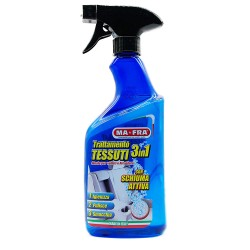 3IN1 TRATTAMENTO TESSUTI schiuma pulisce smacchia igienizza INTERNI AUTO MA-FRA