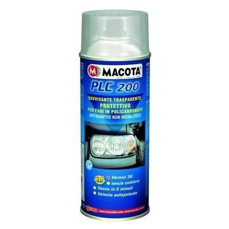MACOTA PLC 200 rinnova fanali ravvivante Spray protettivo per fari 400 ML