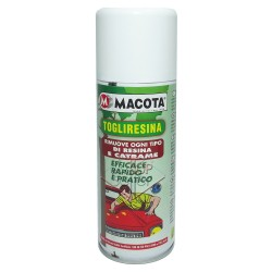 MACOTA TOGLIRESINA rimuove resina e catrame auto moto 200 ml