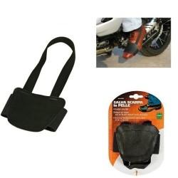 Salva scarpa in PELLE fascia proteggi scarpe da Moto scooter LAMPA 91331