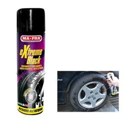 MA-FRA EXTREME BLACK Spray Lucidante gomme EFFETTO BAGNATO Auto Moto