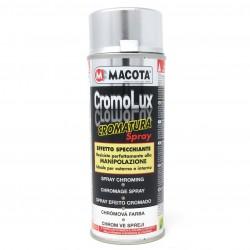 CROMOLUX Spray cromatura Smalto Effetto SPECCHIO 400 ml MACOTA