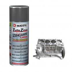 TUTTO ZINCO smalto zincante a freddo Anti corrosione ruggine 400 ml MACOTA