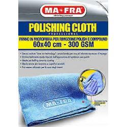 MAFRA POLISHING CLOTH panno microfibra polish lucidatura auto 60x40 cm