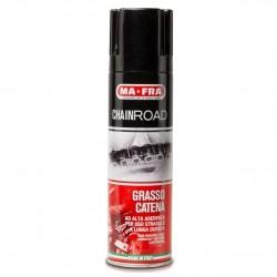 MAFRA CHAINROAD Grasso Catena lubrificante professionale PREVIENE RUGGINE Moto 250 ml
