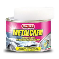 MAFRA METALCREM cera lucidante pasta protettiva carrozzeria auto 250 ml
