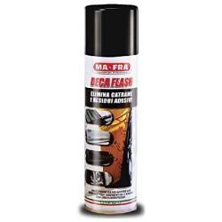 MAFRA DECA FLASH spray ELIMINA CATRAME residui adesivi auto moto 250 ml