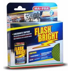 MAFRA FLASH BRIGHT lucida rinnova carrozzeria in cromo acciaio ottone lega Auto Moto