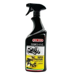 MAFRA CLEANSHINE super pulitore per Moto Scooter detergente sgrassante lucidante 750 ml