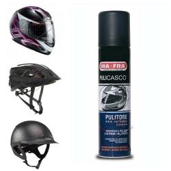 MAFRA PULICASCO spray igienizza pulisce CASCO moto bici equitazione 75 ml