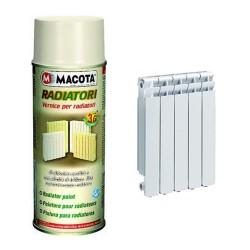MACOTA RADIATORI Vernice 3G per radiatori BIANCO PERLA 400 ML