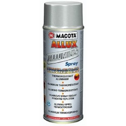 MACOTA ALLUX Vernice spray ALLUMINIO antisetting termoresistente 600° 400ml