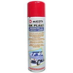 MACOTA OK PLAST spray rinnova paraurti plastica gomma Auto Moto 500 ml